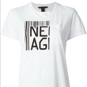 Marc by Marc Jacobs New Age White Tee